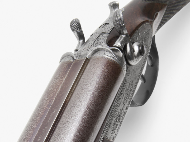 Englische Doppelflinte von 1890